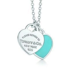 Available @ TrendTrunk.com Return to Tiffany double heart tag pendant. By Tiffany  Co.. Only $120.00!