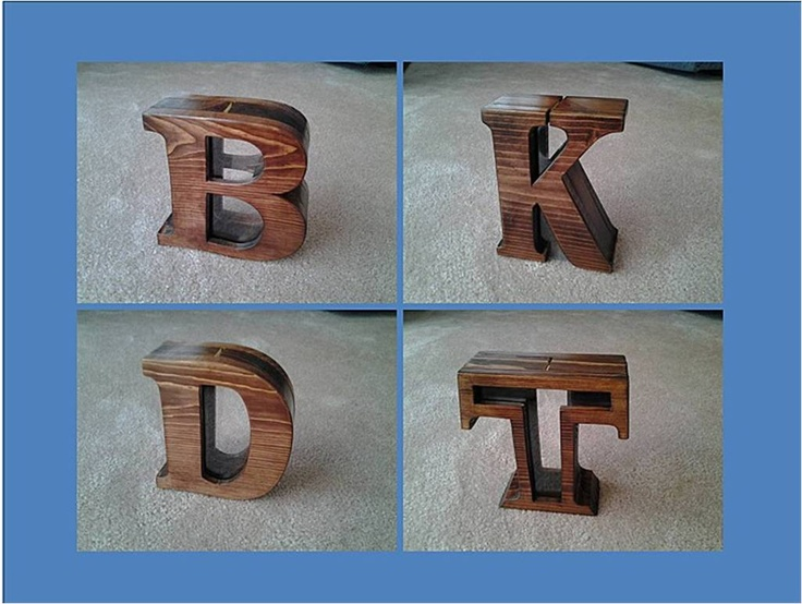 Best 43 Wood Piggy Bank Ideas images on Pinterest   DIY ...