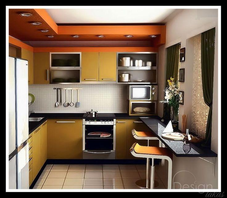 A kis konyhák sarkalatos pontja, folyamatos problémája a helyhiány.