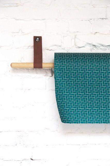 Urban Spring Collection - Paper brick green   Jurianne Matter for Ompak