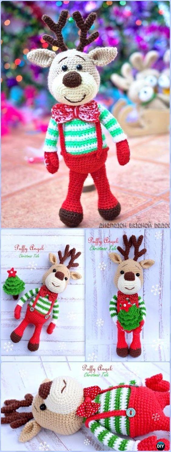 3282 besten CHRISTMAS - Crochet Bilder auf Pinterest | Weihnachten ...