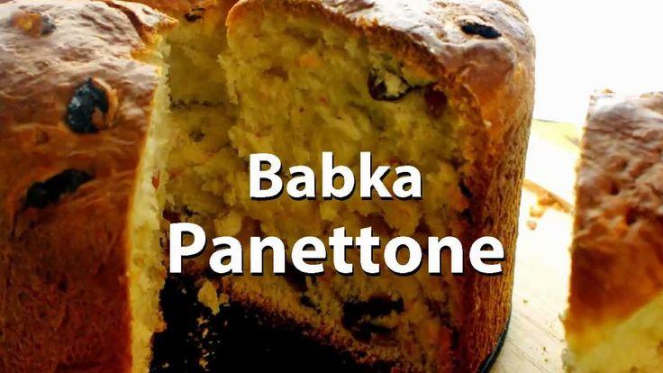Babka Panettone (Panettone), to babka o specyficznym wyglądzie. Jest wysoka i ma stosunkowo regularne kształty. Bardzo smaczna i lubiana we Włoszech, szczególnie w Święta Bożego Narodzenia.  #cake #cakes #ciasta #przepisy
