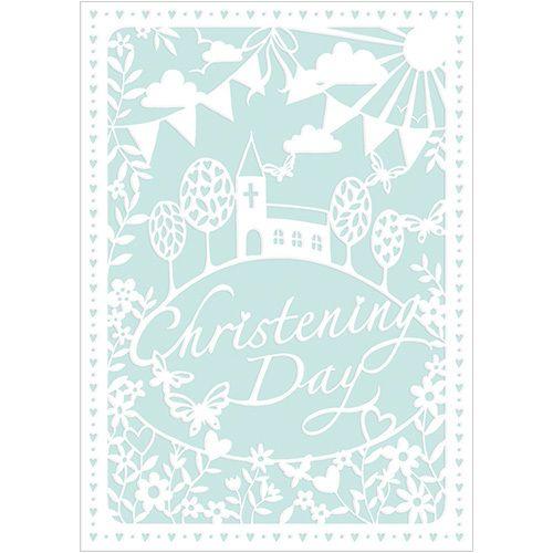 A272 Christening Day. www.gailscards.com.au