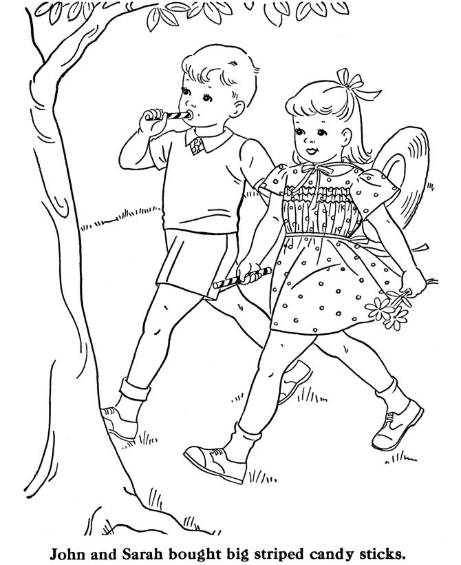 coloring pages walk - photo#20