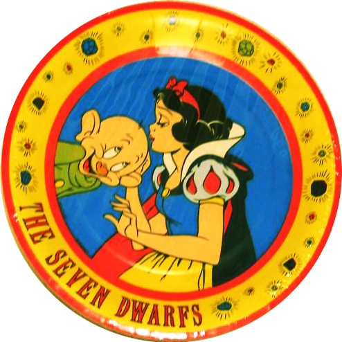 Vintage Snow White and the Seven Dwarfs Party Supplies