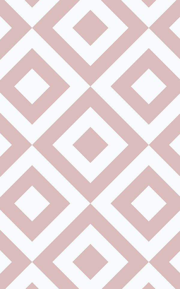 Papier Peint Geometrique Rose Papier Peints Pinterest Idees De