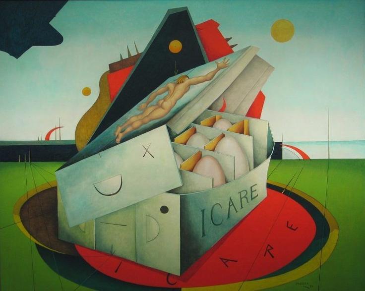 Alexis Preller | Icarus II | 1973 |