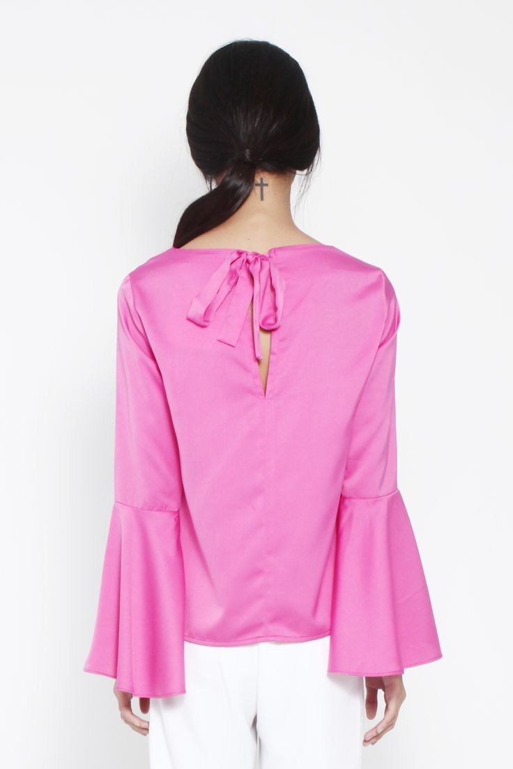 Marcia Bell Sleeve Blouse by kim.