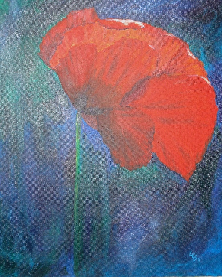 Poppy - Acrylic