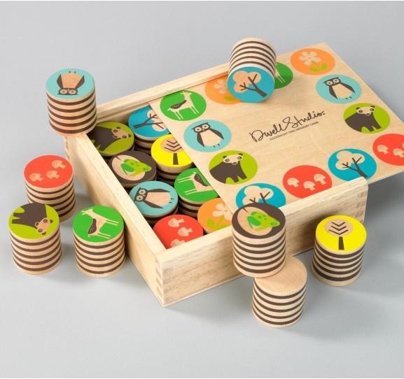 For Child: Dwell Studios Woodland Memory Game $32