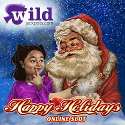 """Wild Jackpots Casino (Micro) Is Offering NEW Players 20 FREE Spins On New Slot """"Happy Holidays"""" + 500 Loyalty Points On Sign Up. No Usa. Download/Instant/Mobile. Offer Here: http://casinondcentral.myfreeforum.org/about379.html"""