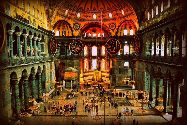 Aya Sofia Istanbul made by Danielle Franke