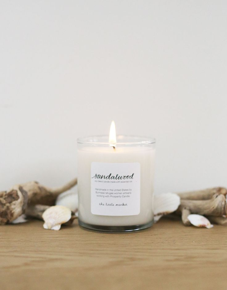 Sandalwood Candle {The Little Market}