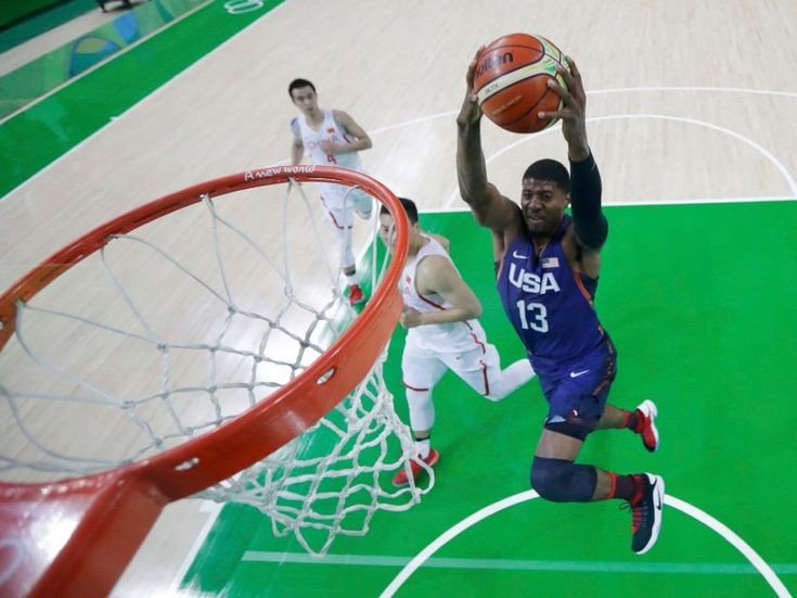 US-Boys auf Punktejagd: Der Gold-Favorit aus Amerika ließ China im Basketball...