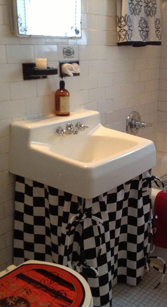 Best 25 Bathroom Sink Skirt Ideas On Pinterest Utility