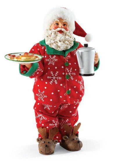 Christmas Morning Santa