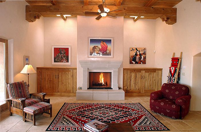 1000 images about native american decor on pinterest for Native house interior designs