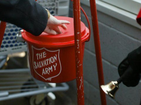 Salvation Army #RedKettleReason Campaign - It's time to help those in need! Here is a way you can do that. #MC #Sponsored