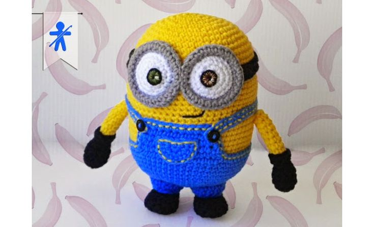 for free! / 미니언즈 밥 The Minions (I): BOB!!! Pattern The pattern is designed to be croche...
