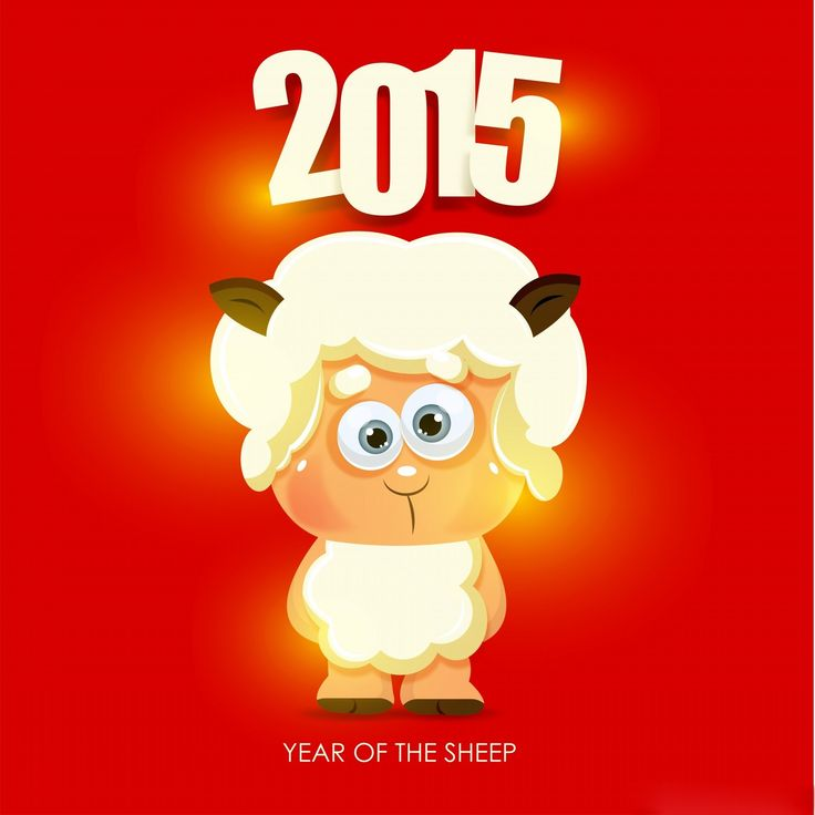 chinese new year sheep wallpaper