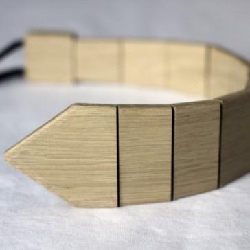 Drewniany krawat