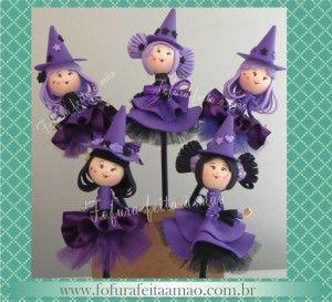 Lila és fekete ceruza boszorkányok haj