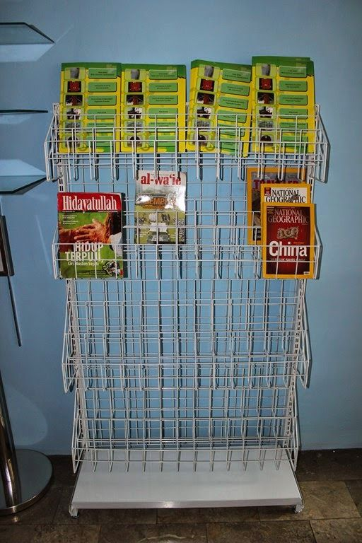 RAK GONDOLA MAJALAH - rajaRAK.co.id  http://www.rajarak.co.id/2014/11/rak-gondola-majalah.html