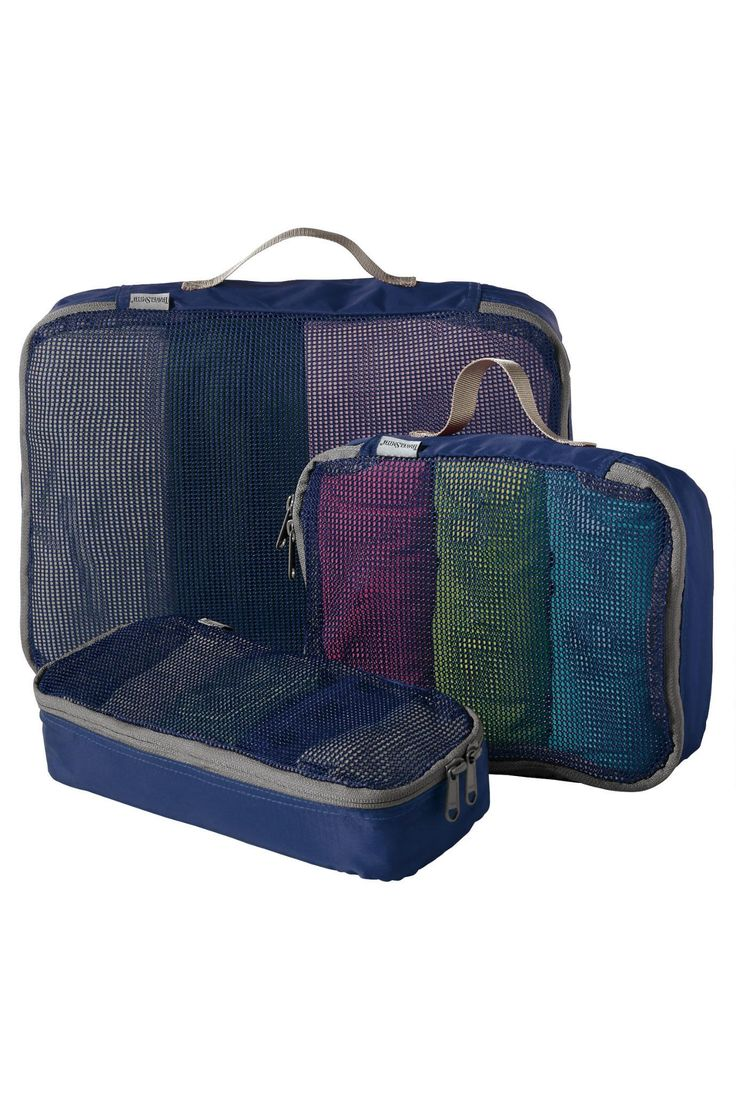 Stay organized and neat while traveling with this Set of 3 TravelSmith Smart Packs. Packing just got a whole lot simpler!