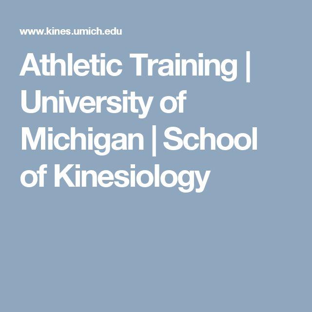 Athletic Training | University of Michigan | School of Kinesiology
