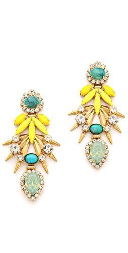 Elizabeth Cole Strieker Earrings | SHOPBOP