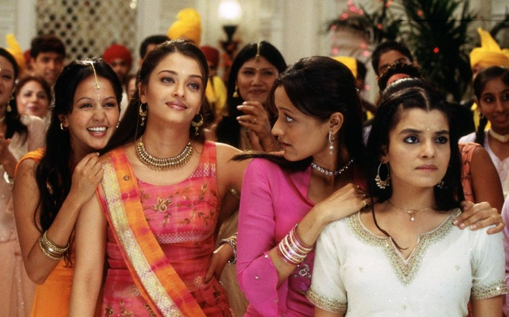 Bride and Prejudice: Lakhi (Lydia), Lalita (Lizzie), Jaya (Jane) and Maya (Mary)