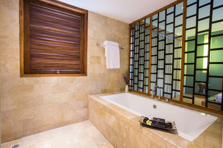 Luxury Bathroom.. E: info@thegrovebalivillas.com  #bali #balivillas #luxury #bathroom #travel #travelling