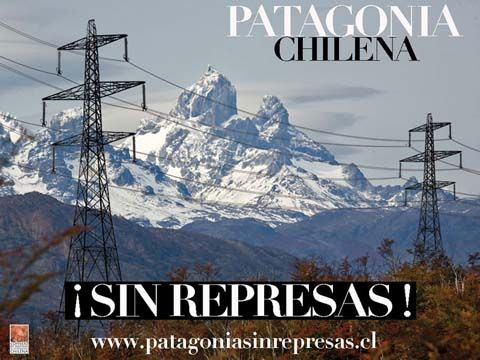 to avoid this horror, of high voltage towers to be built throughout the country from south to north of Chile just to bring more energy to mines and contaminating the terriotorio and the little water available in the north