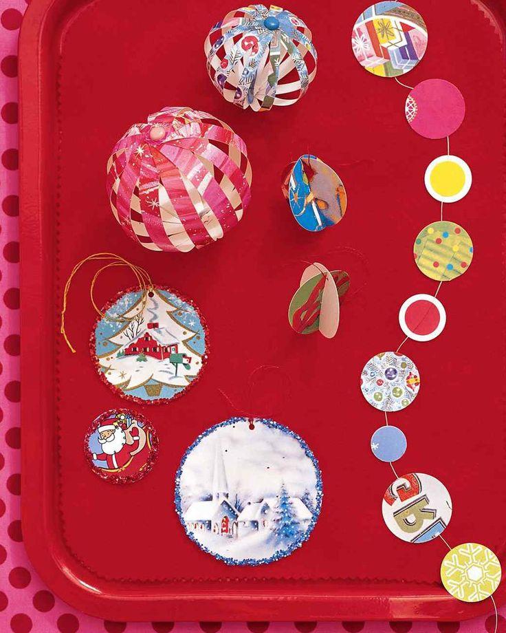 adornos navideos caseros adornos reciclados