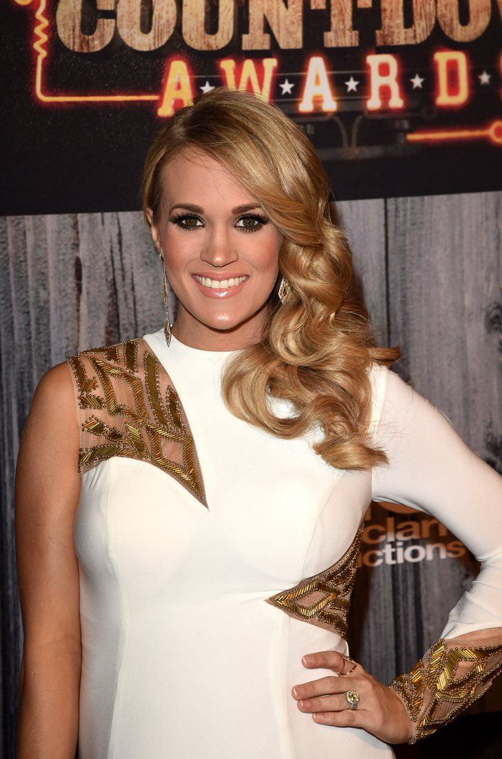 Pin for Later: 18 Stunning Nontraditional Celebrity Engagement Rings Carrie Underwood
