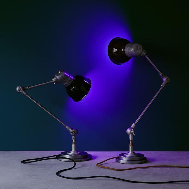 Couple De Lampes D Atelier Peterco Bresil Annees 50 Lampe Atelier Lamp Atelier