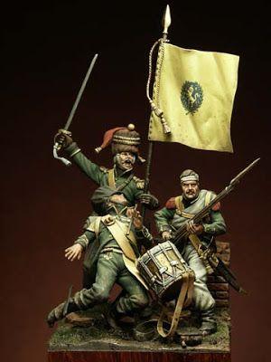 I Soldatini di Gaetano Ciotola: Fanteria Nassau , Waterloo 1815 - Autore Cartacci Numitone - Collezione Gaetano Ciotola