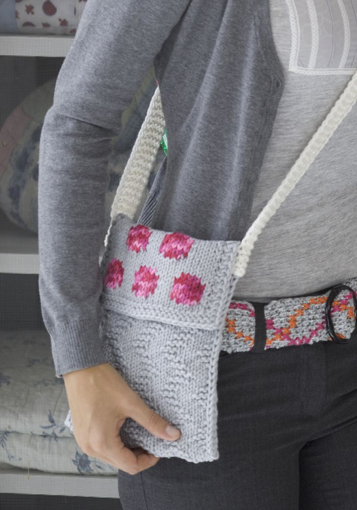 Knit Tote Bag Pattern Free : 78 best images about Free Knitting Patterns (Purses, Bags ...