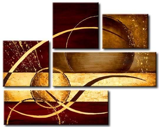 Abstract Universe , $489.00 (http://bestartdeals.com.au/multi-panel-paintings/5-panel-canvas-painting/abstract-universe-002/)