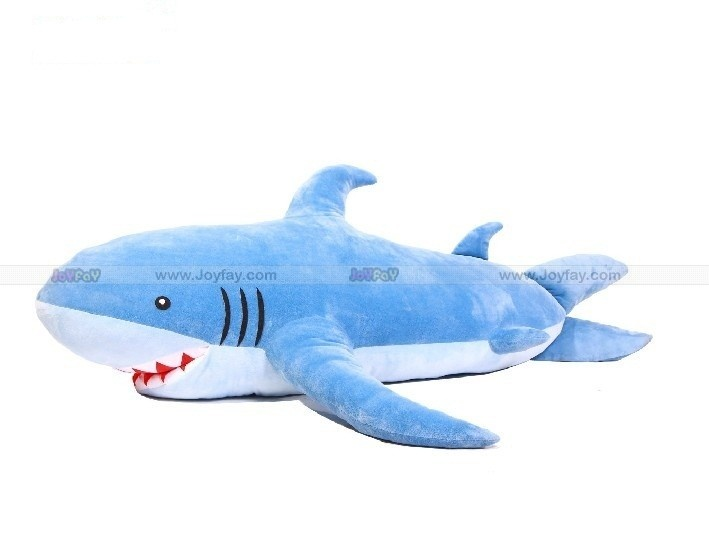Giant Stuffed Shark Huge 70u0027u0027 Blue Plush Toy Http://www.