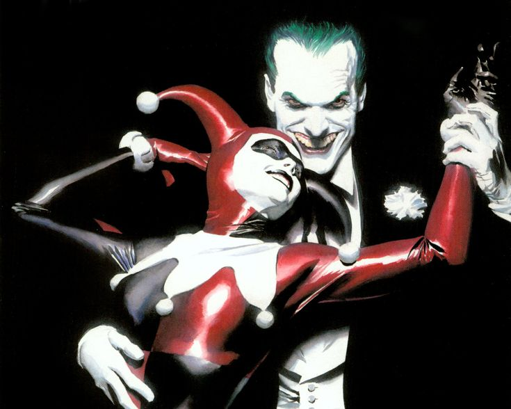 Alex Ross Joker & Harley Quinn