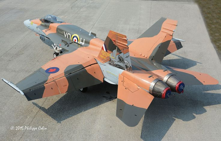 RCAF 2015 Demo CF-18 with the Battle of Britain 75th anniversary special scheme