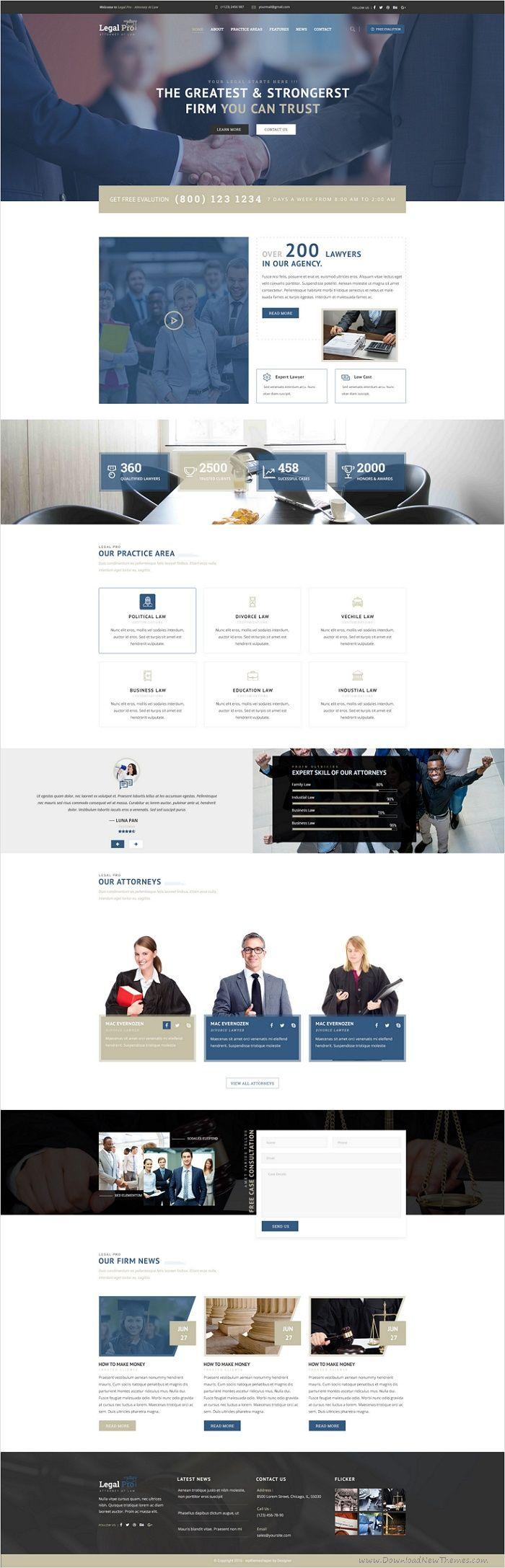 Best 25+ Law Firm Website ideas on Pinterest