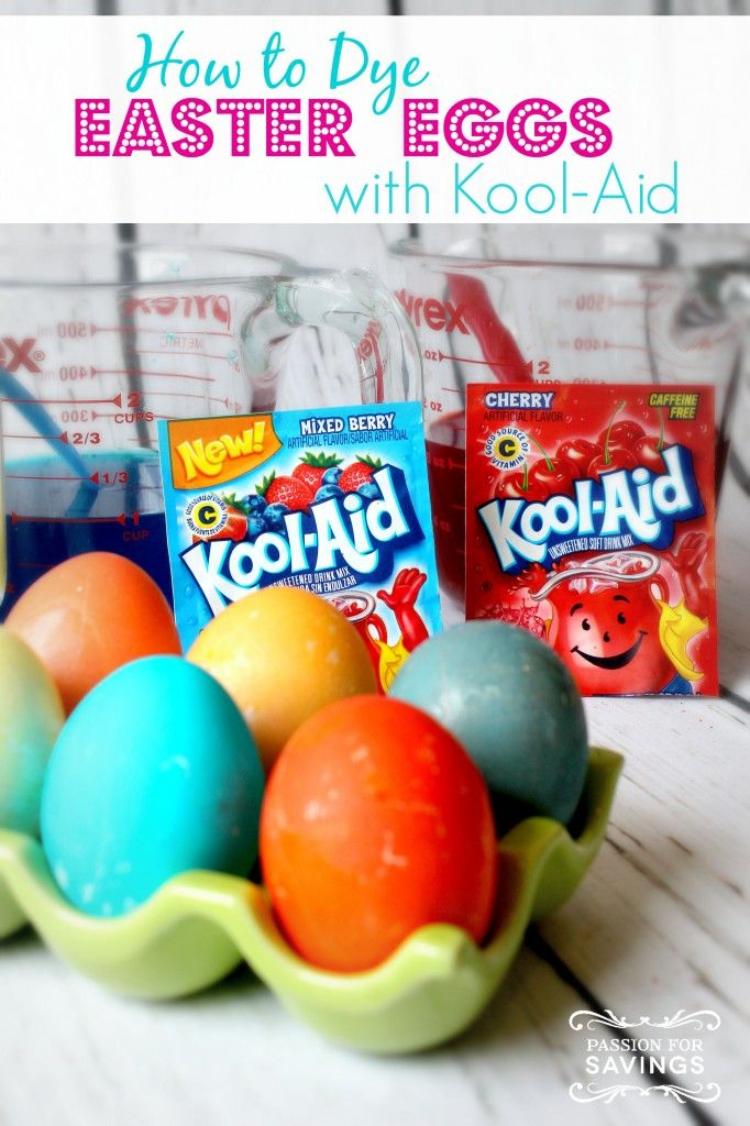 How To Dye Easter Eggs With Kool Aid Simple And Easy Tips