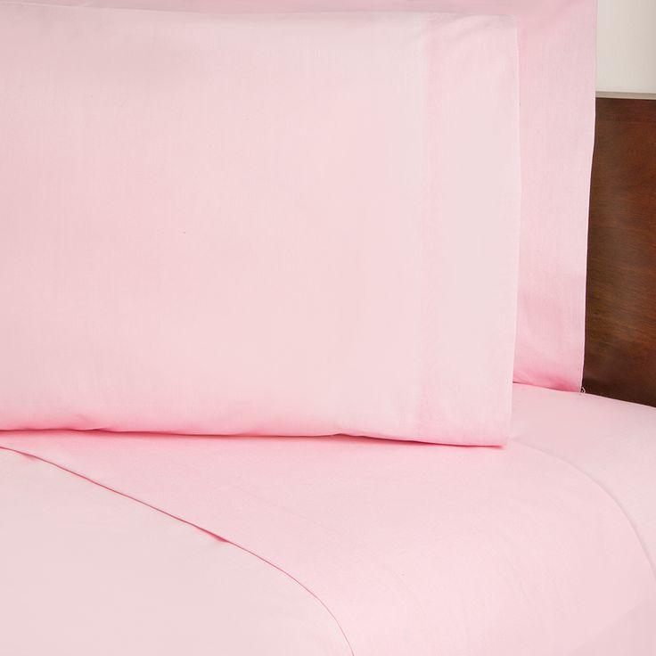Sábanas Armonía Pastel Rosa Claro #Recamara #Sabanas  #Hogar #IntimaHogar   #Decoracion