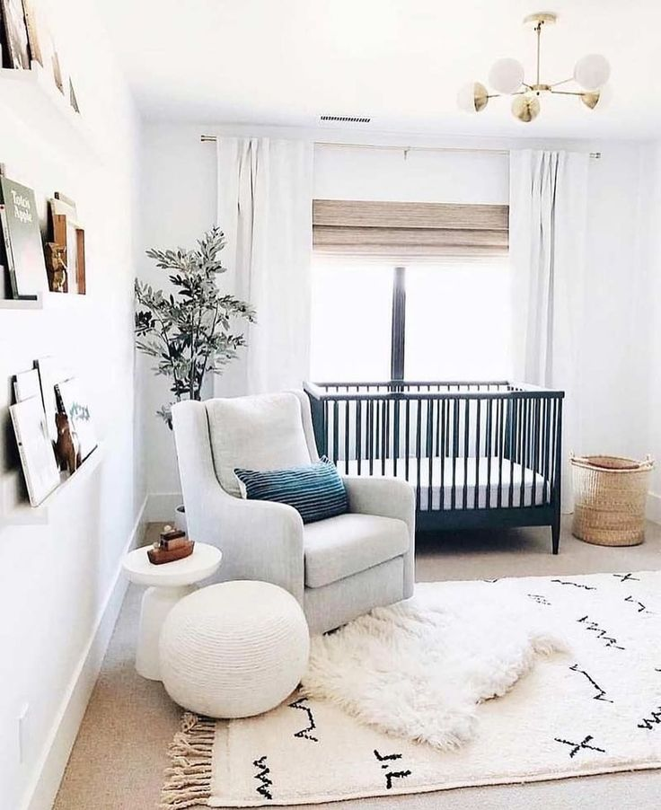 "Idées Cozy Baby Nursery sur Instagram: ""copycatchicThis moderne et boho nursery …   – Nursery Decor"