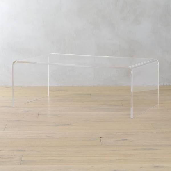 Peekaboo Acrylic Coffee Table · Acryl Couchtische AcrylnägelWeltraumzeitalterWohnzimmermöbelInnendekorationFamilienzimmerSofas