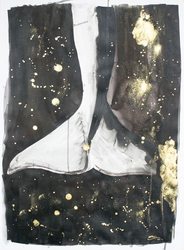 whaletale, watercolour by Silvia Ilona Klatt, www.dropsandink.com