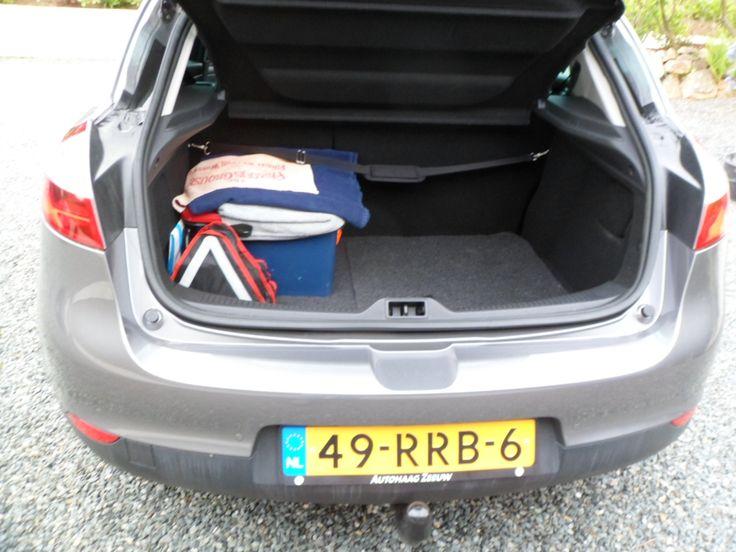 Kofferbak open