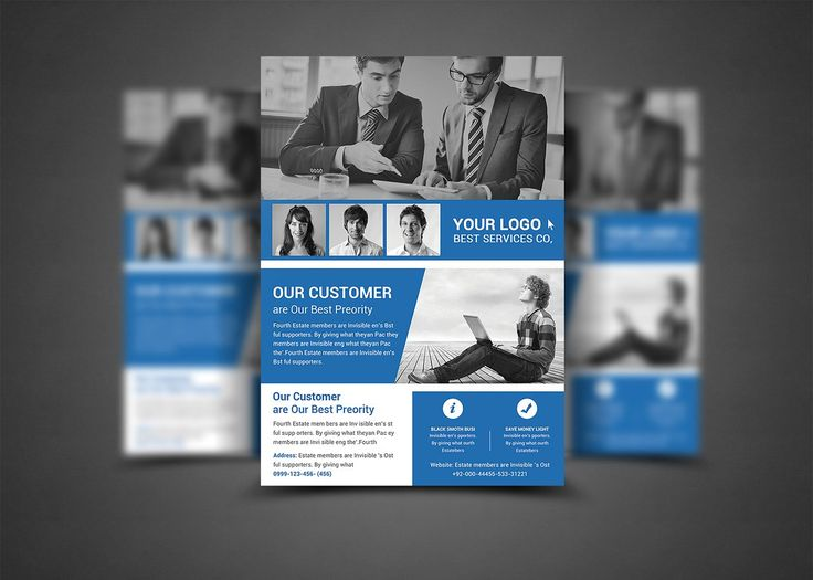 Corporate Business Flyer Template - Flyers